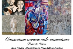 """""""Conscious v Subconscious"""" group exhibition at Elizabeth James Gallery - February 2019"""