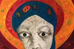 """""""Halo"""" - Acrylic on canvas - 40 x 50cm"""