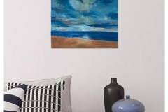 """Days End"" - Acrylic on canvas - 40 x 50cm - Available on Artfinder!"