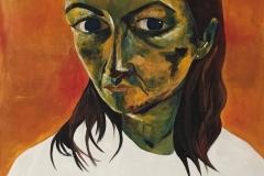 """""""Zoe"""" - Acrylic on canvas - 61 x 91cm - Available on Artfinder!"""