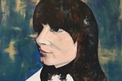 """""""Silke"""" #2 - Acrylic on canvas - 61 x 91cm - Available on Artfinder!"""